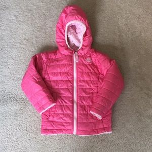 The North Face reversible puffer
